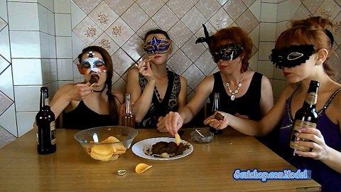 ModelNatalya94 – The morning Breakfast the four girls – Image 5 ...