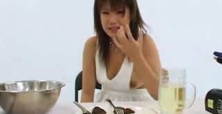 Two Asian Girls Cooking With Shit And Pee - 1