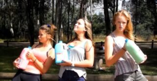 3 litre milk challenge by da teen girls - Picture 1