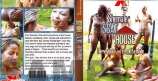 MFX 548 - Shemale Scat House (Pooping Shemales - Group, Outdoor)