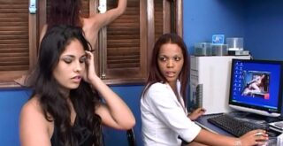 Scat Secretary Girls Jaquline,Roxana,Samantha,Ines - SG-Video - 1