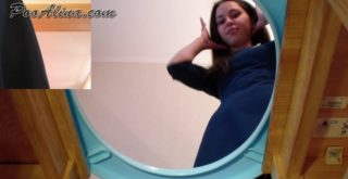 PooAlina - Pooping and spitting in slave mouth - 1